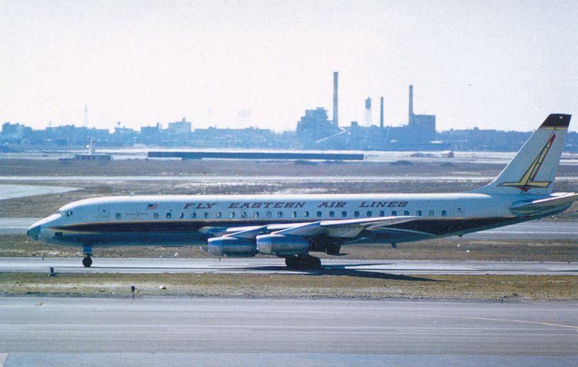 Eastern Airlines Douglas DC8-21 - Golden Falcon