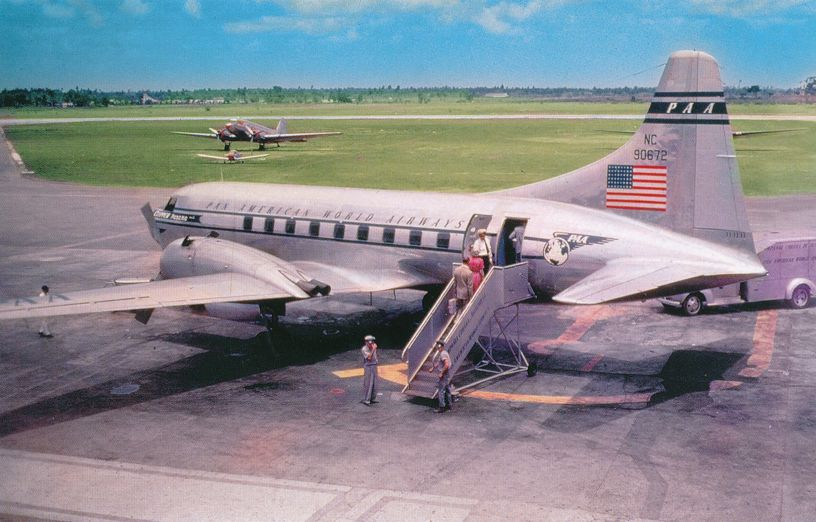 Pan American World Airways - Convair 240 (Widely used in the West Indies)