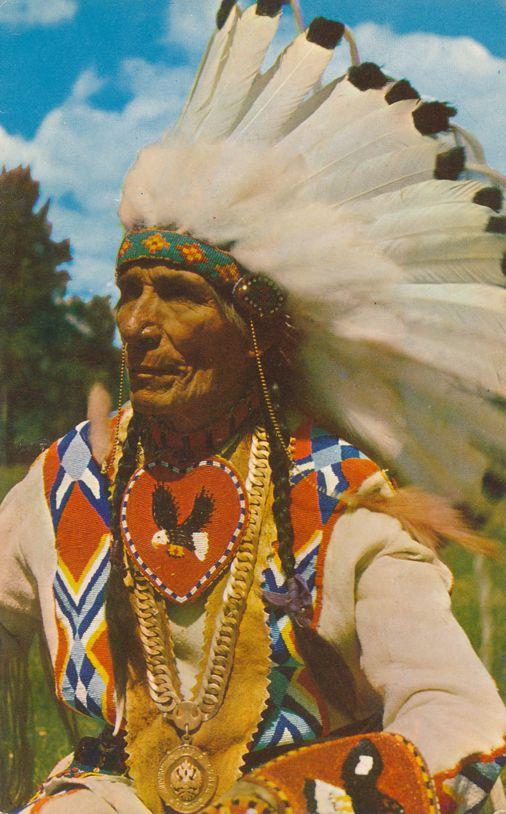 Indian Chief - Western USA - Oklahoma