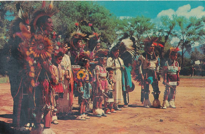 Indian Dance Group - Native Americans
