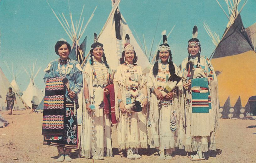 Indian Maidens - Western USA