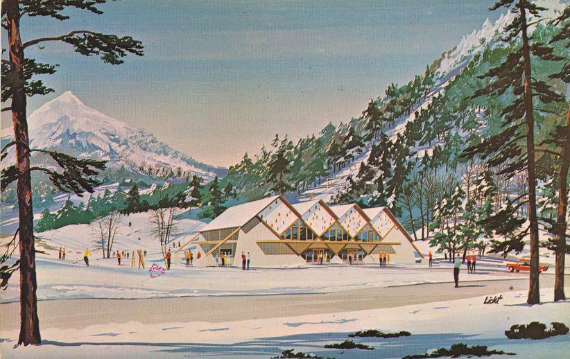 Rams Head Base Lodge - Killington Ski Area near Rutland Vermont