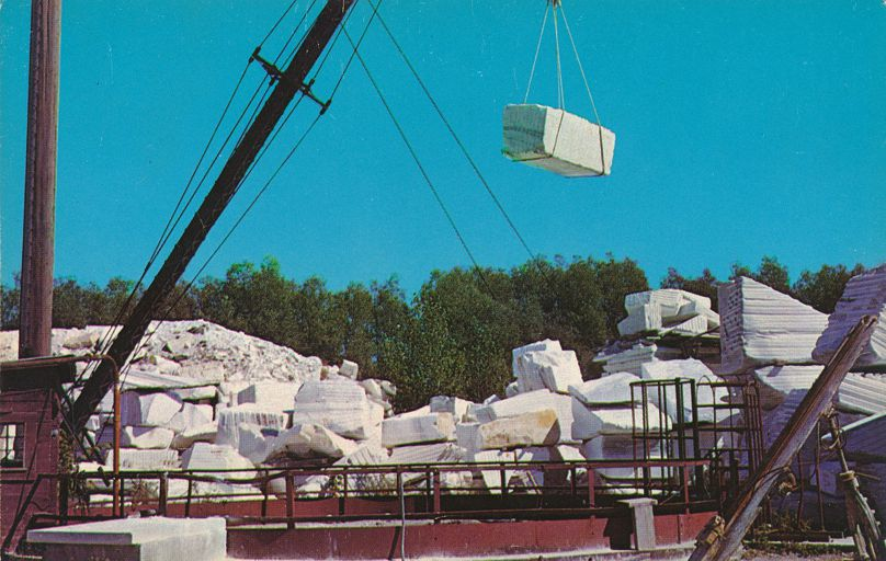 Marble Quarry at West Rutland, Vermont