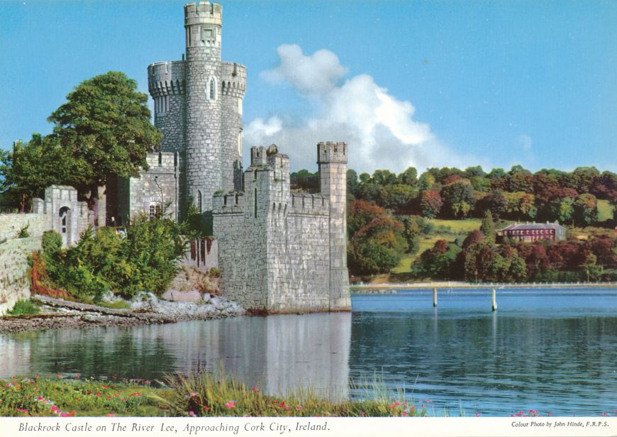 Blackrock Castle on The River Lee near Cork City, Ireland