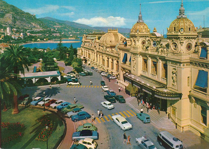General View of the Casino - Monte-Carlo, Monaco