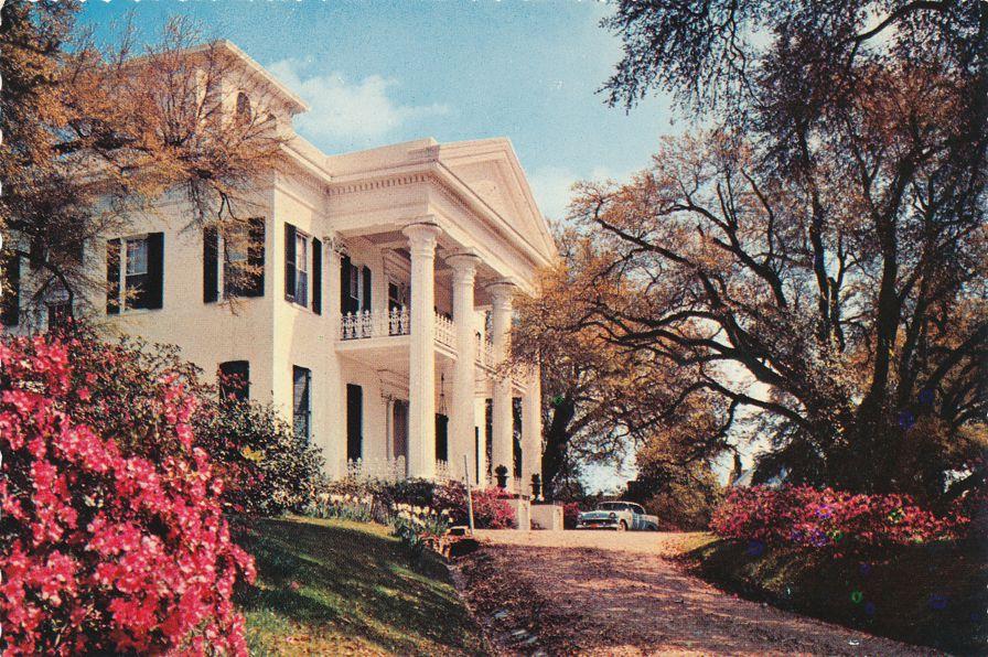 Stanton Hall - Natchez, Mississippi - Headquarters of Pilgrimage Garden Club