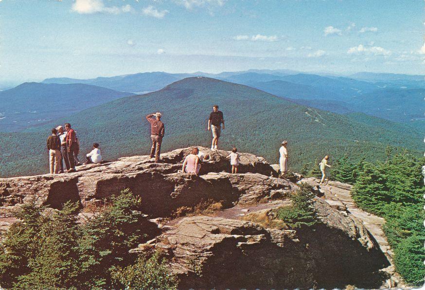 View from Killington Peak Summit - Killington, Vermont