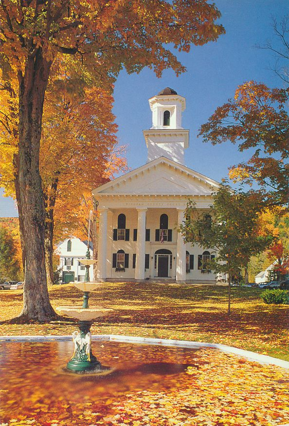 Newfane, Vermont - Windham County Courthouse
