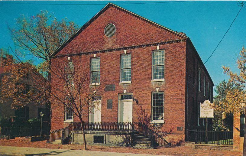 Presbyterian Church Meeting House - Alexandria, Virginia