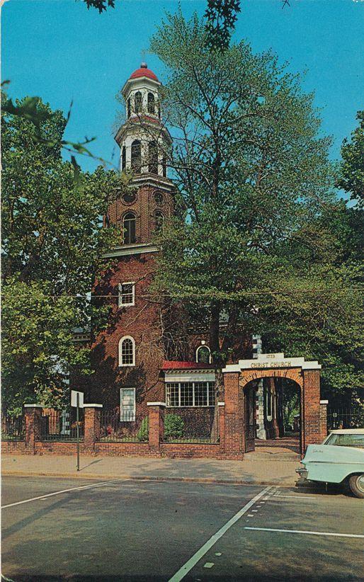 Christ Church in Alexandria, Virginia