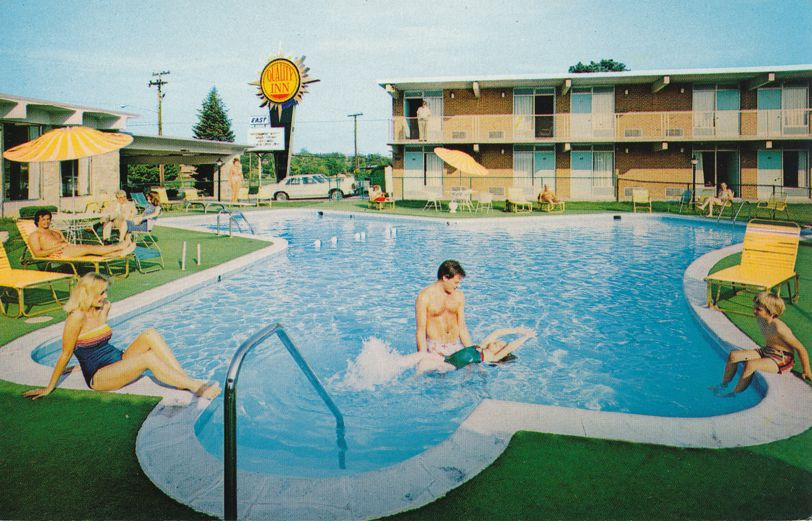 Swimming Pool at Quality Inn East Motel - Winchester, Virginia