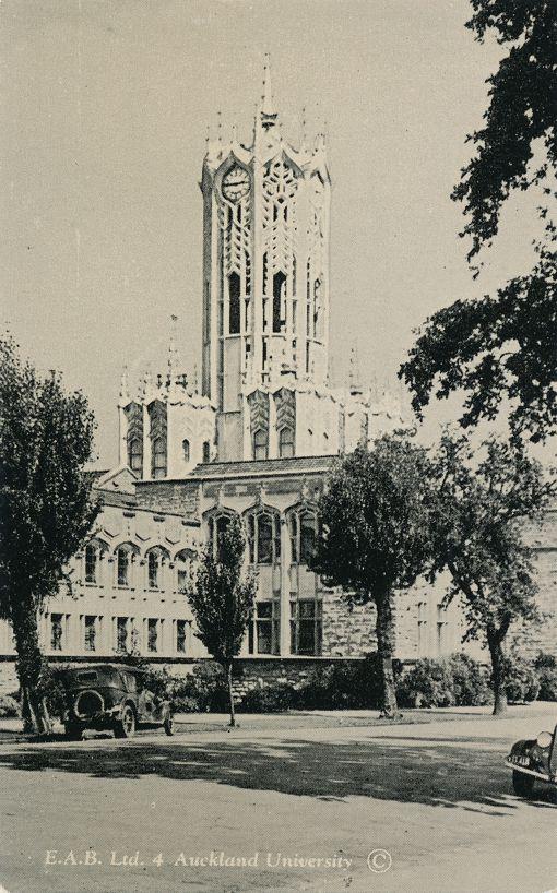 E. A. B. Ltd 4 - Auckland University, New Zealand - Divided Back
