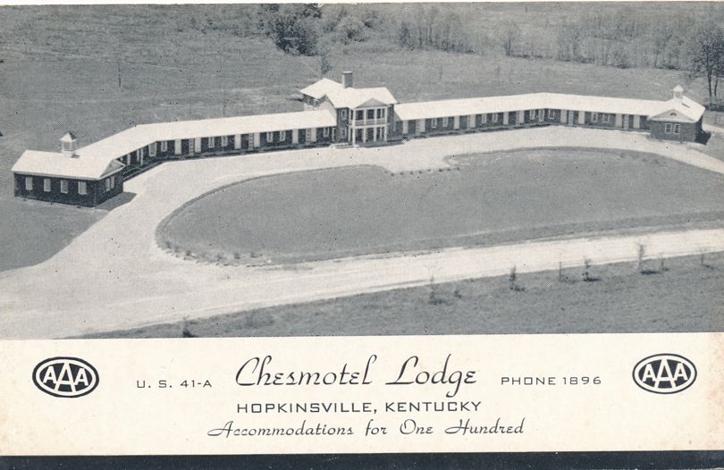 Chesmotel Lodge - Motel - on US Route 41 - Hopkinsville, Kentucky