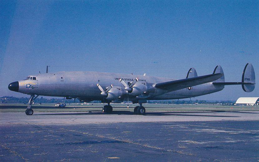 Lockheed VC-121E Columbine III - President Eisehhower's personal airplane