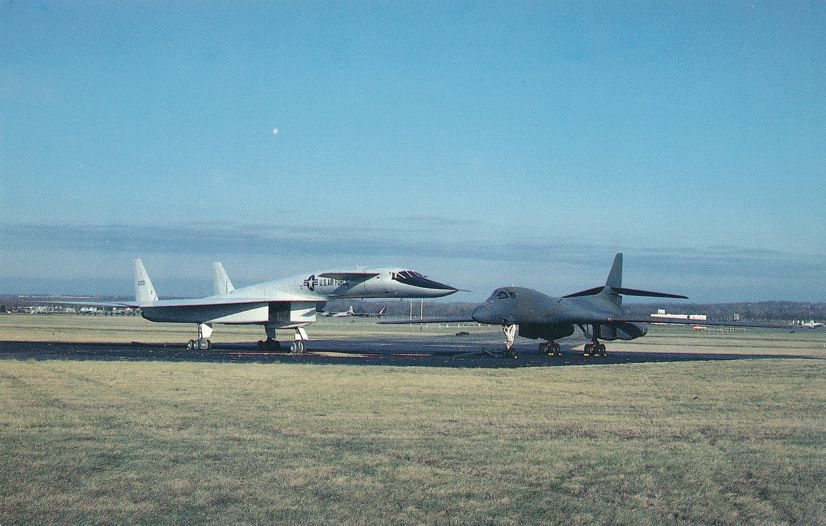 Rockwell International XB-70 Valkyrie High Altitude Bomber Aviation