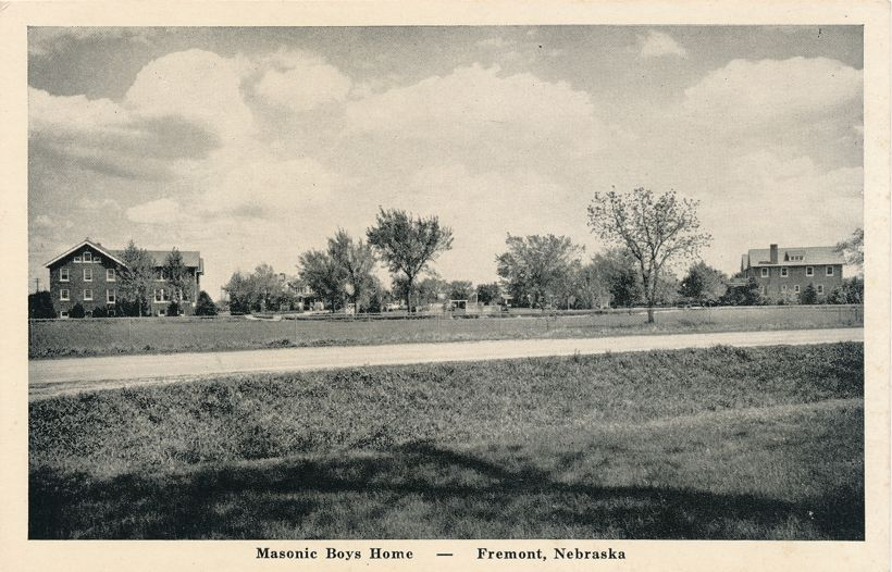 Masonic Boys Home at Fremont, Dodge County, Nebraska