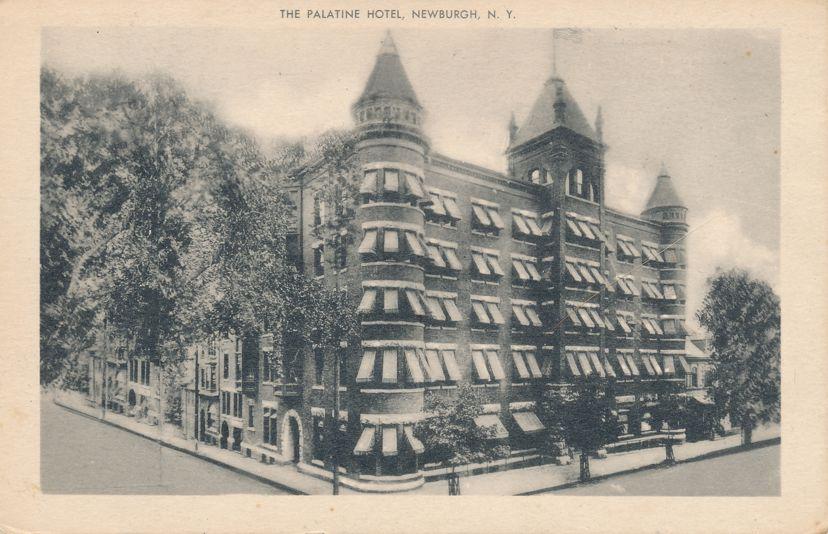 The Palatine Hotel - Newburgh, New York - See 20 miles from Balcony