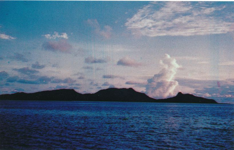 Moen Island, Chuuk Islands of Micronesia - Pacific