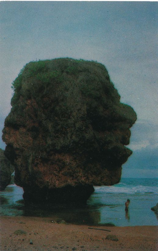 Old Man of the Sea near Saipan, Mariana Islands - Pacific Ocean