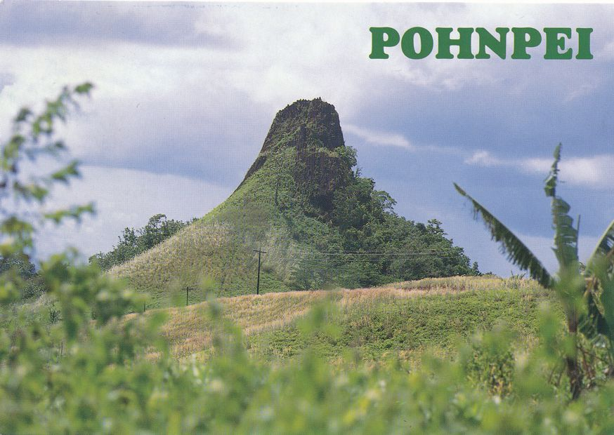 Chicken Shit Mountain - Pohnpei Ponape Micronesia
