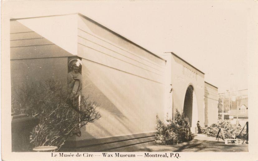 RPPC Le Musee de Cire - Wax Museum - Montreal, Quebec, Canada - Real Photo