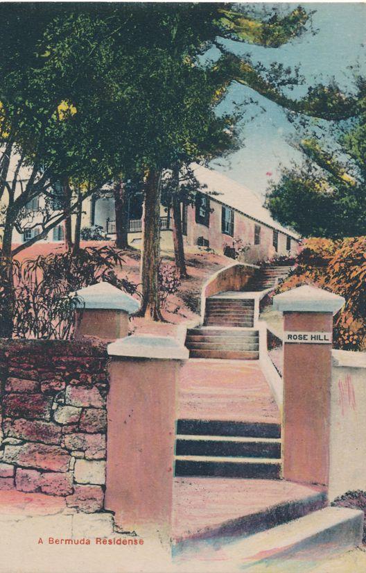 Rose Hill a Bermuda Residence - Divided Back