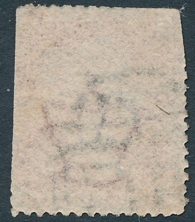 Great Britain sc# 33 - Used - Plate 78 - L-G - Queen Victoria One Penny