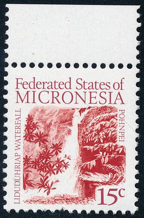 Micronesia sc# 33,34,36-39 MNH (6 stamps) - Definitives from 1985-8 - High Value $10