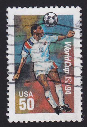 United States sc# 2836 Used - 1994 Soccer World Cup
