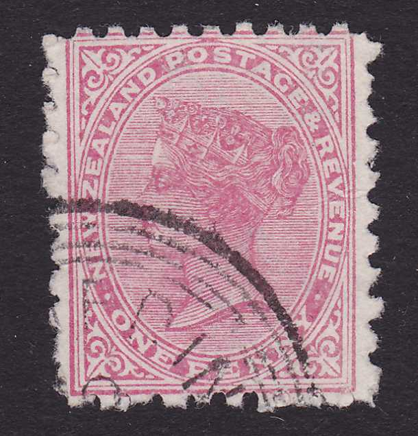 New Zealand #61 Used - Queen Victoria