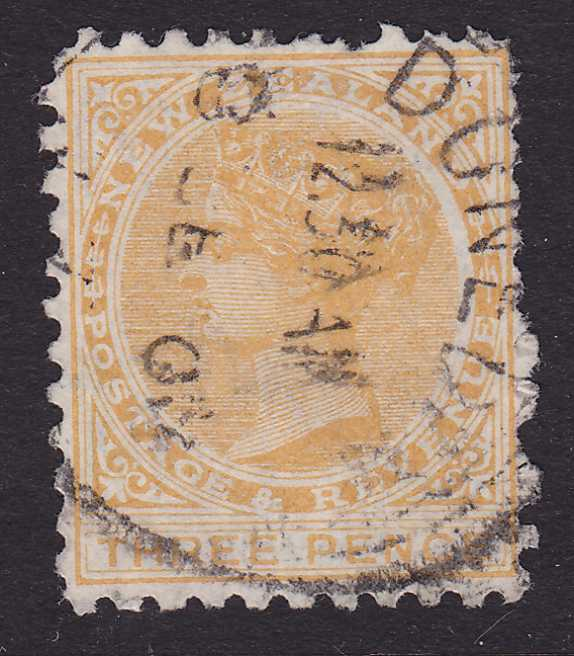 New Zealand #63a - Used single - Yellow - Queen Victoria