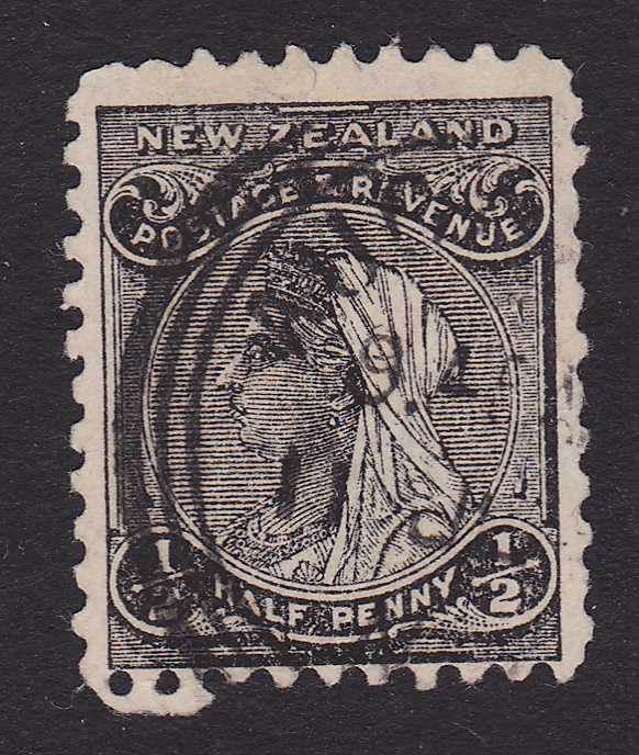 New Zealand #67A - Used - Queen Victoria