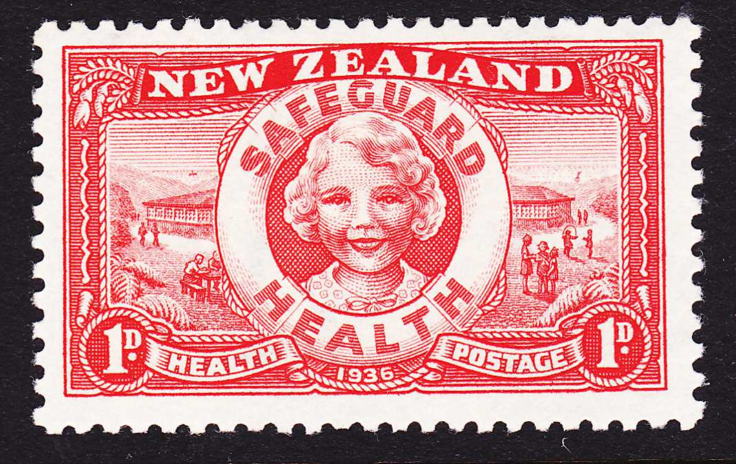New Zealand #B11 - MLH - 1936 Semi-Postal - Safeguard Health