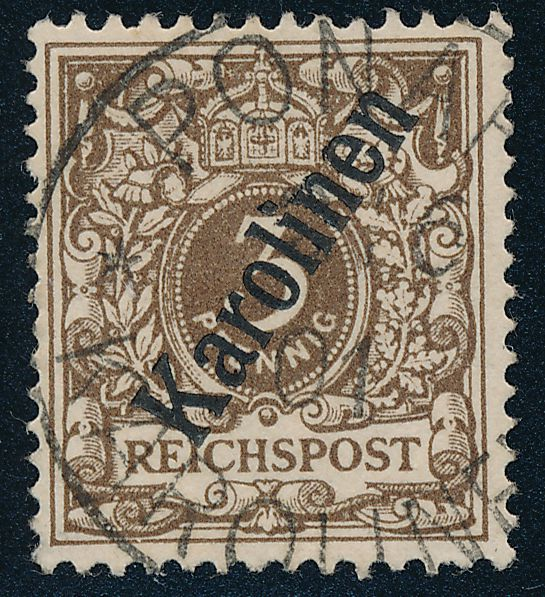 German Caroline Islands sc# 1 - Used - Ponape - Karolinen