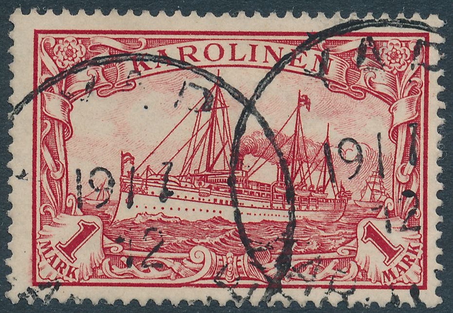 German Caroline Islands sc# 16 - Used YAP Karolinen 1912