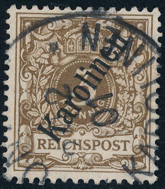 German Caroline Islands sc# 1 - Used - Ponape 1901 - Karolinen