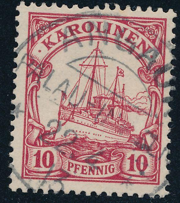 German Caroline Islands sc# 9 - Used Angaur Palau 1913 - Karolinen