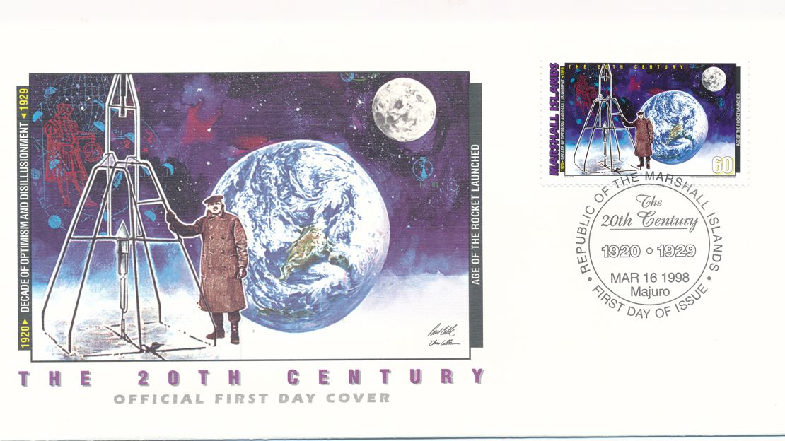 Marshall Islands sc# 654h FDC - Age of Rockets Launched